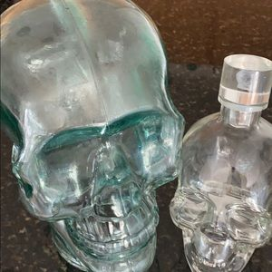 Two Glass Skulls 💀 ☠️